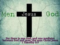 Men Jesus God