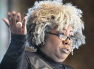 Anthea Butler speaks at Bates College